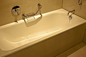Vitrex Sanitaryware - Enamel (Porcelain Coated) Steel Baths and Shower Trays