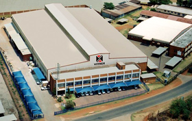 Vitrex's head office and factory in Johannesburg
